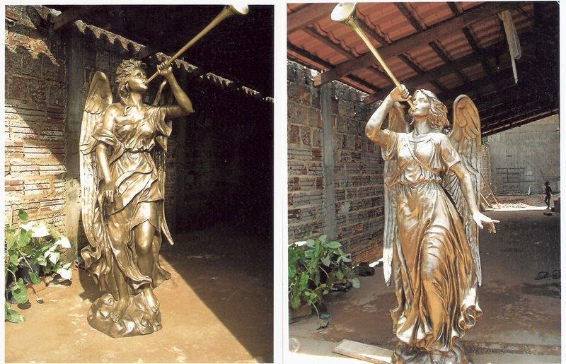 Anjos de bronze