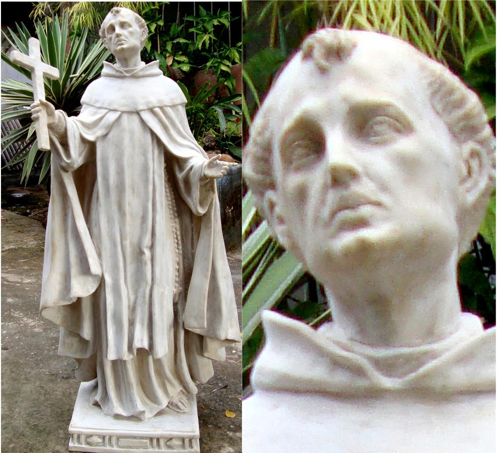 Escultura de São João da Cruz