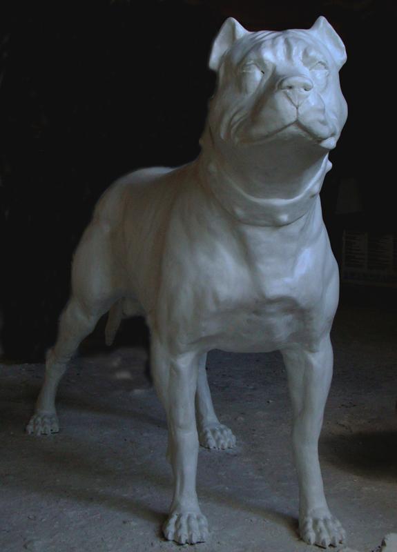 Escultura cachorro